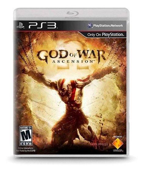 God Of War: Ascension - Novo Original Playstation Ps3