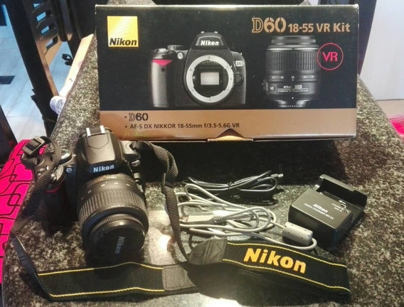 Camara Fotográfica Nikkon Modelo D60