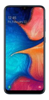Smartphone Samsung Galaxy A20 32gb Azul 4g - 3gb Ram Tela 6,