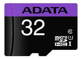 Memoria 32gb Micro Sdhc + Adaptador Adata Video Celular