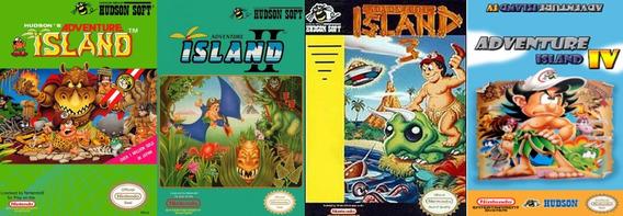 Juegos Adventure Island 1, 2,3 4 Nes Pc/android Windows 7/10