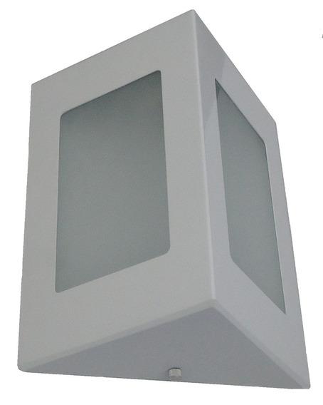 8 Arandela Triângulo Parede Muro Aluminio Externo Interno.