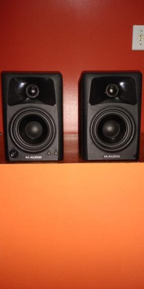 Monitor De Referência Ativo Fal 3 Pol 10w (par) Av32 M-audio