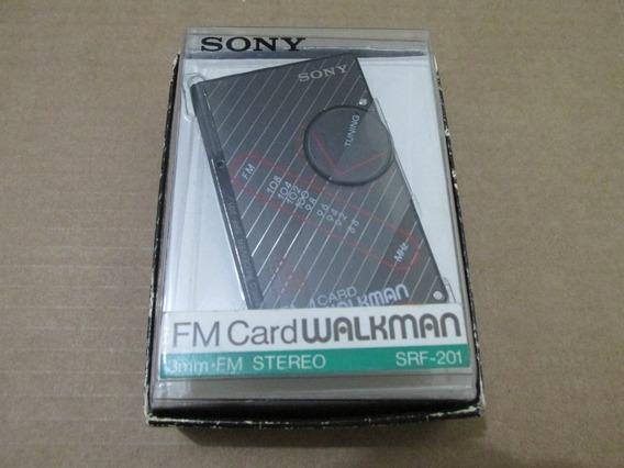 Sony Srf-201 Walkman Raro!!!