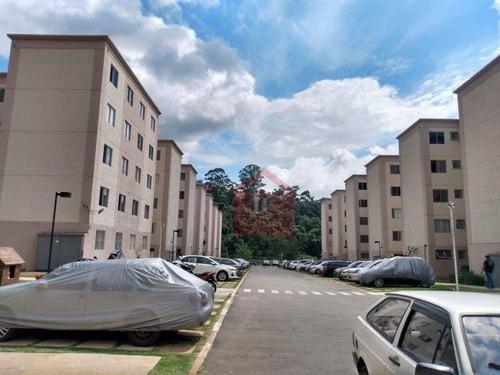 Apartamento Com 2 Dormitórios À Venda, 50 M² Por R$ 178.000,00 - Jardim Petrópolis - Cotia/sp - Ap0279