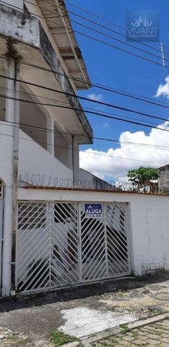 Sobrado Com 3 Dormitórios Para Alugar, 230 M² Por R$ 2.000/mês - Parque Suzano - Suzano/sp - So0142