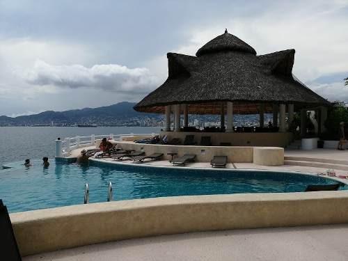 Depto En Venta Con Vista Al Mar En Fracc. Marina Brisas, Acapulco