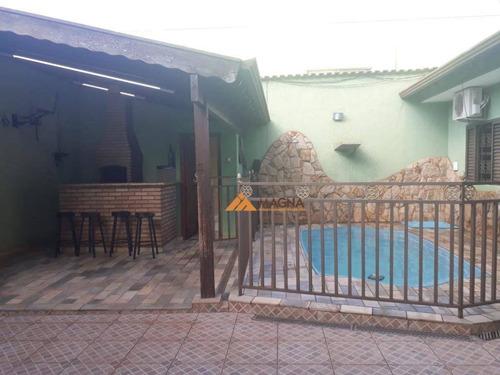 Casa À Venda, 180 M² Por R$ 580.000,00 - Parque Industrial Lagoinha - Ribeirão Preto/sp - Ca2575