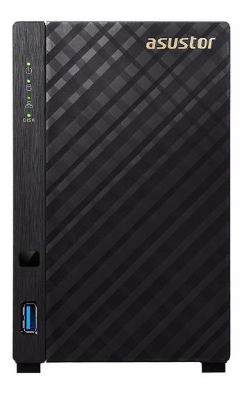 Nas Storage Servidor Asustor As1002t 2 Baias Dual Core S/ Hd