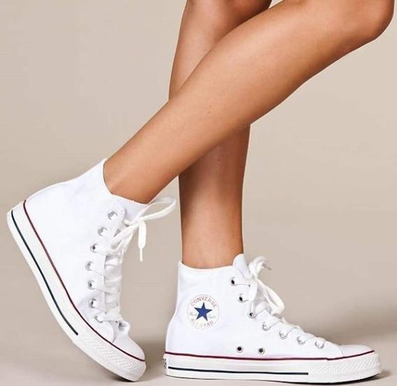 Tênis Converse All Star Cano Longo Branco