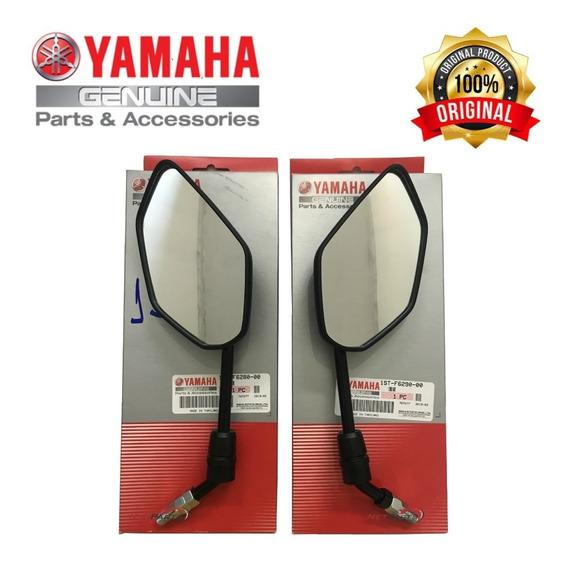 Espelho Retrovisor Lander 250 2019 Original Yamaha - Par