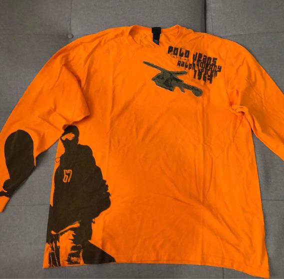 Camiseta Polo Ralph Lauren Original Usada Xxl