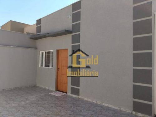 Casa Com 2 Dormitórios À Venda, 68 M² Por R$ 220.000,00 - Parque Das Oliveiras - Ribeirão Preto/sp - Ca0965
