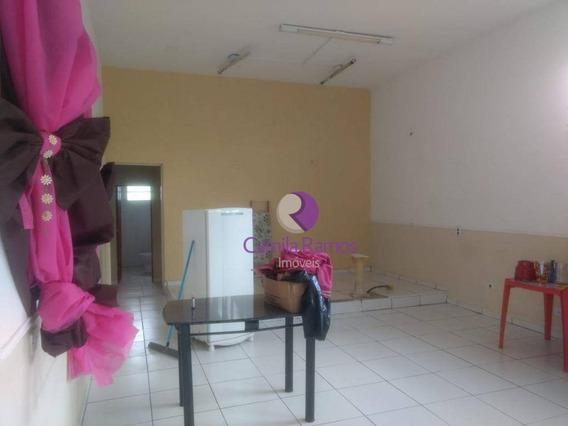 Salão Para Alugar Por R$ 1.000/mês - Caxangá - Suzano - Sl0065