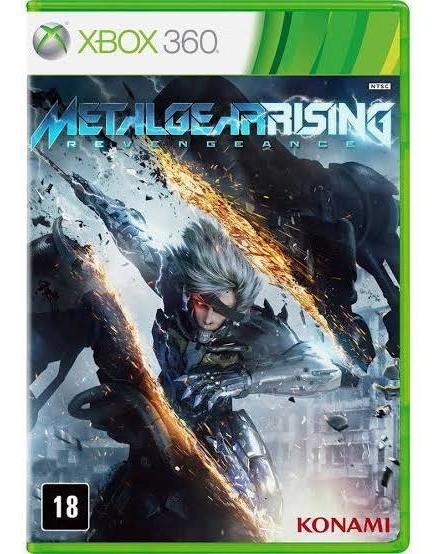 Metal Gear Rising Revengeance Xbox 360 Em Mídia Original