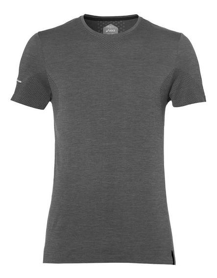 Asics Camiseta Seamless Hombre - Gris