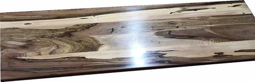 Imagen 1 de 10 de Mesada Barra Tapa De Mesa Madera Guayubira 4x40x180cm