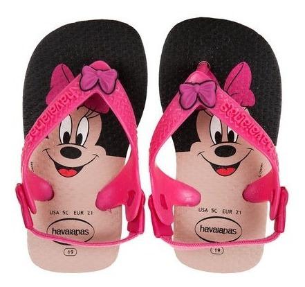 Havaianas Beba Minnie Mouse Originales Usadas Buen Estado