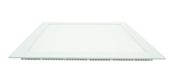 6 Luminaria Painel Led 24w 30x30 Embutir 4000k Branco Neutro