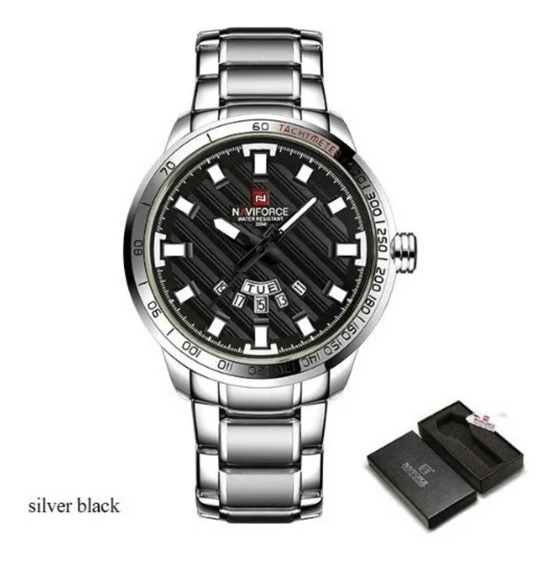 Relógio Masculino Pulso Naviforce 9090 Original Promoção