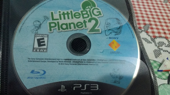 Little Big Planet 2 Midia Física Blu-ray, Frete Gratis
