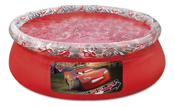 Piscina Inflável Para Criança 1080 Litros Bestway Carros