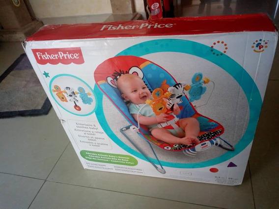 Silla Para Bebe Con Función De Vibrar Fisherprice Original