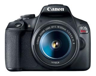 Canon Eos Rebel T7 Kit 18-55mm 24mp Wi-fi Garantia Oficial