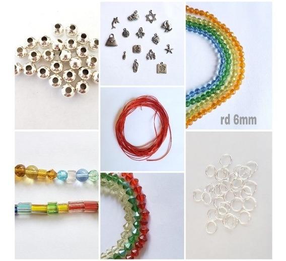 Kit Material Para Armar Pulsera Bisutería