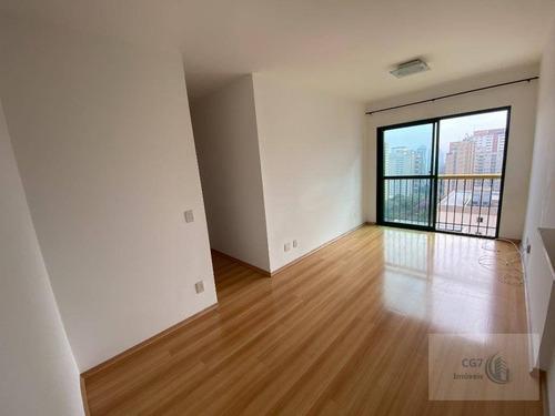 Otimo Apartamento De 58m² No Centro De Alphaville - Ap1767