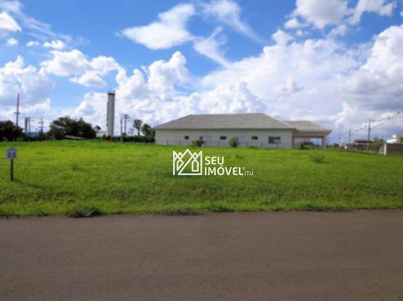Terreno À Venda, 1056 M² Por R$ 300.000,00 - Condomínio Parque Ytu Xapada - Itu/sp - Te0749