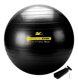 Bola Suíça Pilates Yoga 75cm Com Bomba Grátis Ziva Original