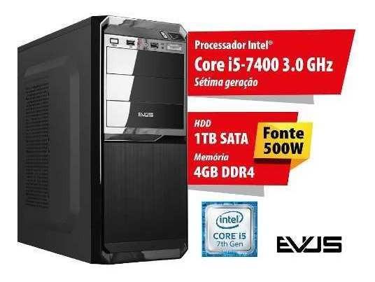 Microcomputador Desktop Evus Modelo Neo 1004 Sétima Geração