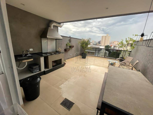Cobertura Com 4 Dormitórios À Venda, 144 M² Por R$ 690.000,00 - Vila Alpina - Santo André/sp - Co5493