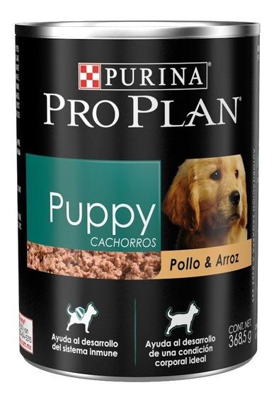 10 Latas Proplan Puppy Complete Alimento Húmedo Perro Oferta