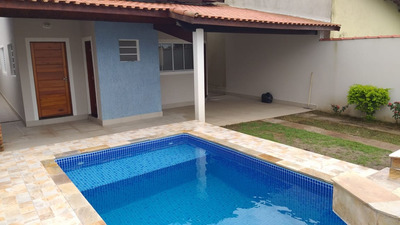 Casa Isolada Nova Com Piscina A 200 Metros Da Praia