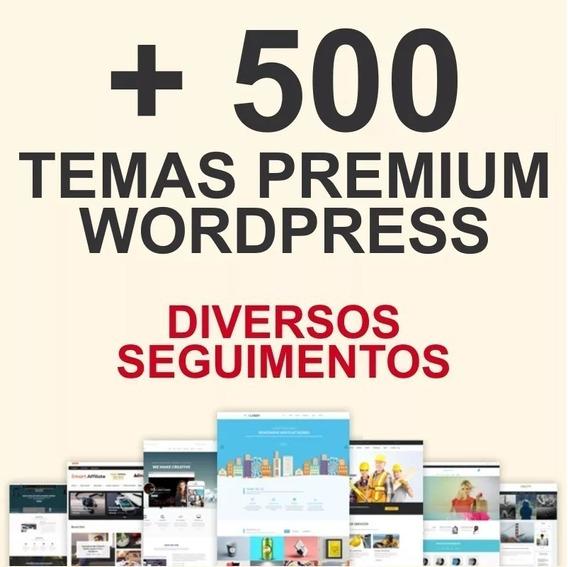 500+ Temas Premium Wordpress Diversos Seguimentos
