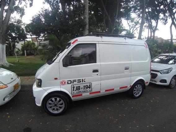 Van Cargo Placa Publica Dfsk 2015