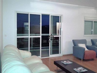 Apartamento Com 2 Suites Ampliadas Para Locação, 113 M² No Condomínio Edifício Resort Tamboré - Alphaville - Sp - Ap0183