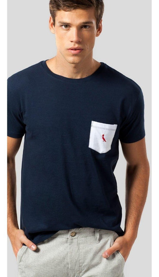 Camiseta Mr Bolso Br Pica-pau Bordado Reserva