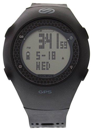Relojes Deportivos,sóleo Unisex Sg010-001 Gps Turbo Negr..