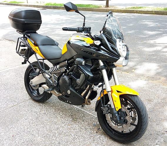 Kawasaki Versys 650.. 2012.. Hermosa.. Vencambio
