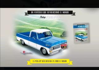 Ford F100 Salvat Colección Para Armar Varios Ejemplares