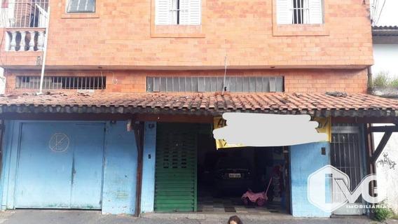 Salão Para Alugar, 200 M² Por R$ 3.000,00/mês - Parque Continental I - Guarulhos/sp - Sl0058