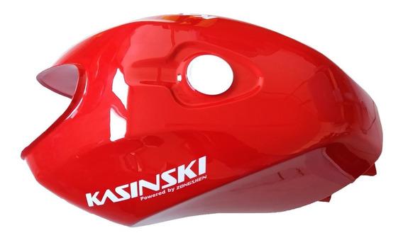 Tanque De Combustivel Kasinski Comet 150 Vermelho - Com Detalhes