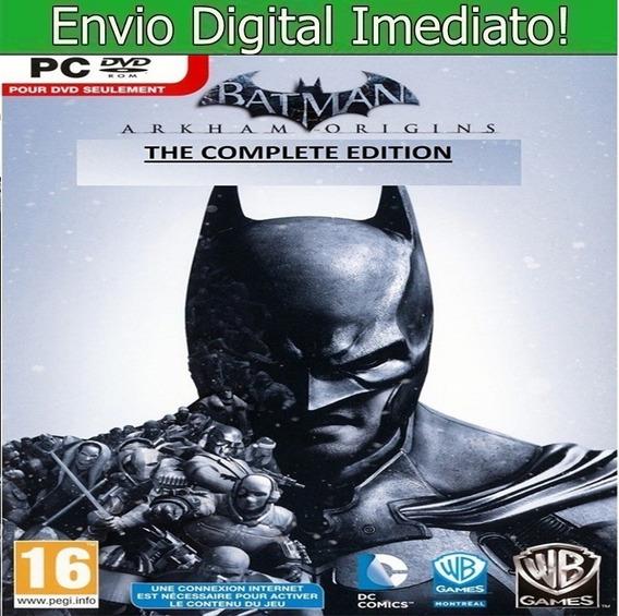 Batman Arkham Origins Pc Hd Original Envio Imediato!