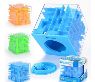 Maze Money Box Alcancía Laberinto Cubo