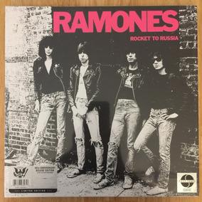 Box Lp + Cd Ramones Rocket To Russia 40th Anniversary Deluxe