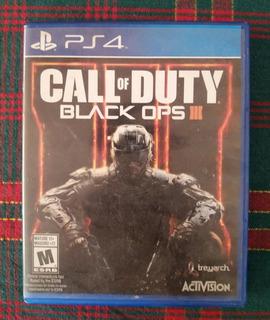Call Of Duty - Black Ops Iii (ps4)(usado)