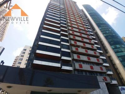 Apartamento Com 4 Dormitórios Para Alugar, 455 M² Por R$ 8.500/mês - Boa Viagem - Recife/pe - Ap0211